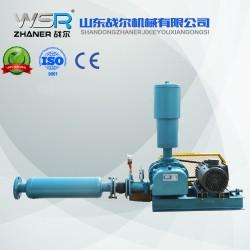 四川WSR-100曝气用罗茨鼓风机