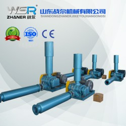四川WSR-125曝气用罗茨鼓风机