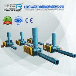 四川WSR-175曝气用罗茨鼓风机